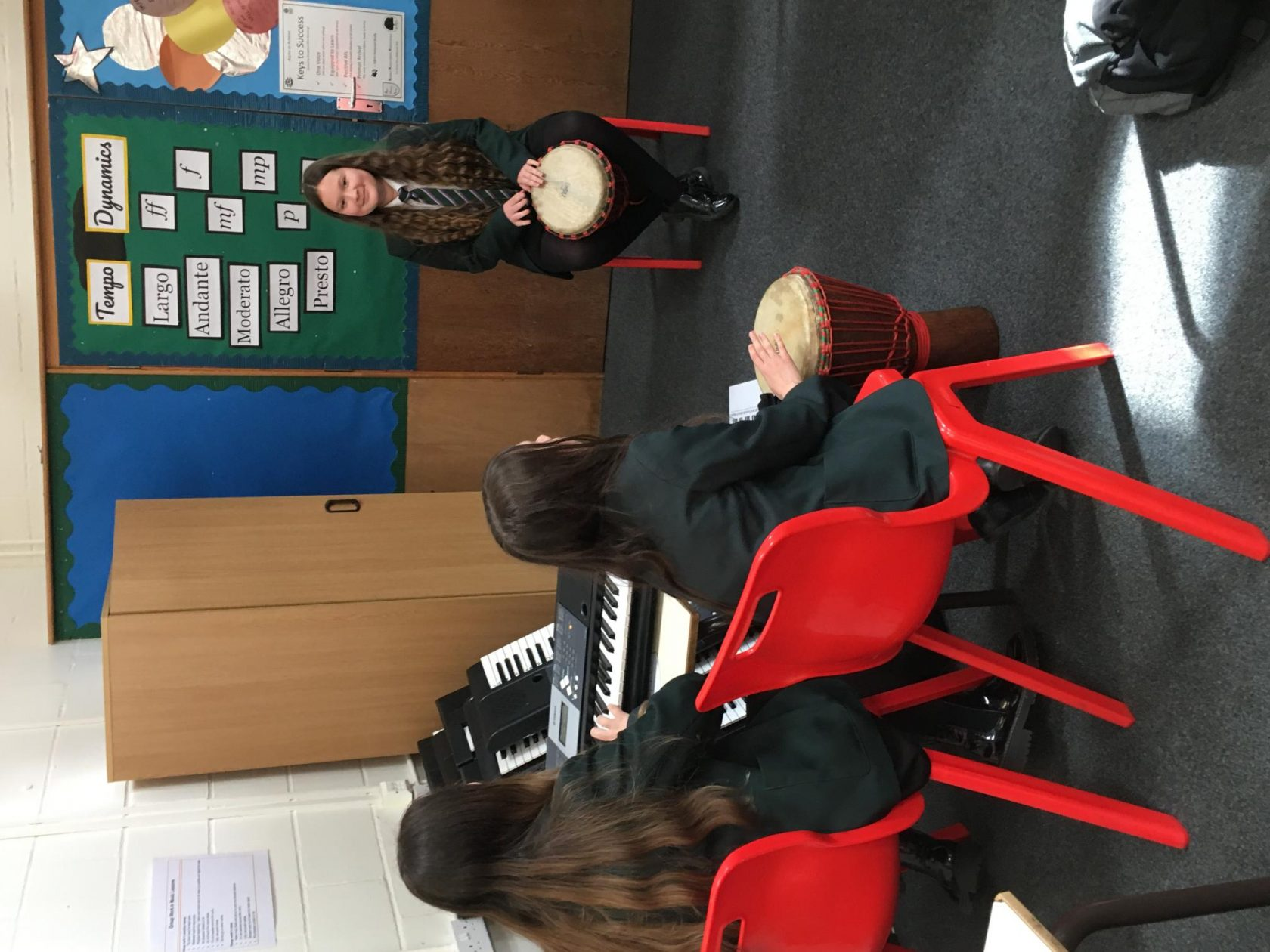 Key Stage 3 Band Practice