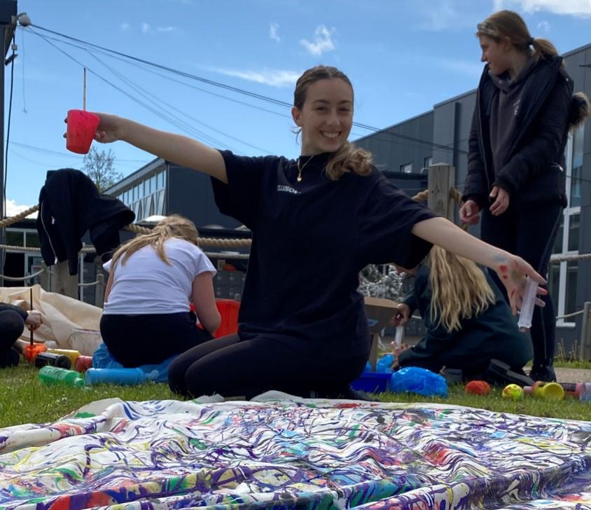 Jackson Pollock – Mental Health Awareness Week Activity