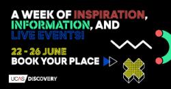 UCAS Discovery Week 22-26 June