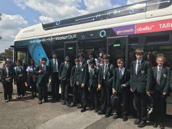 Hydrogen Bus Visit