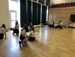 Year 8 Dancers turned Synchronised Swimmers