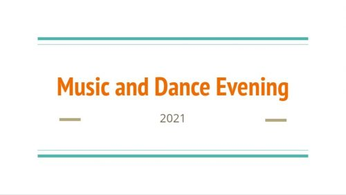 Music and Dance Celebration Evening