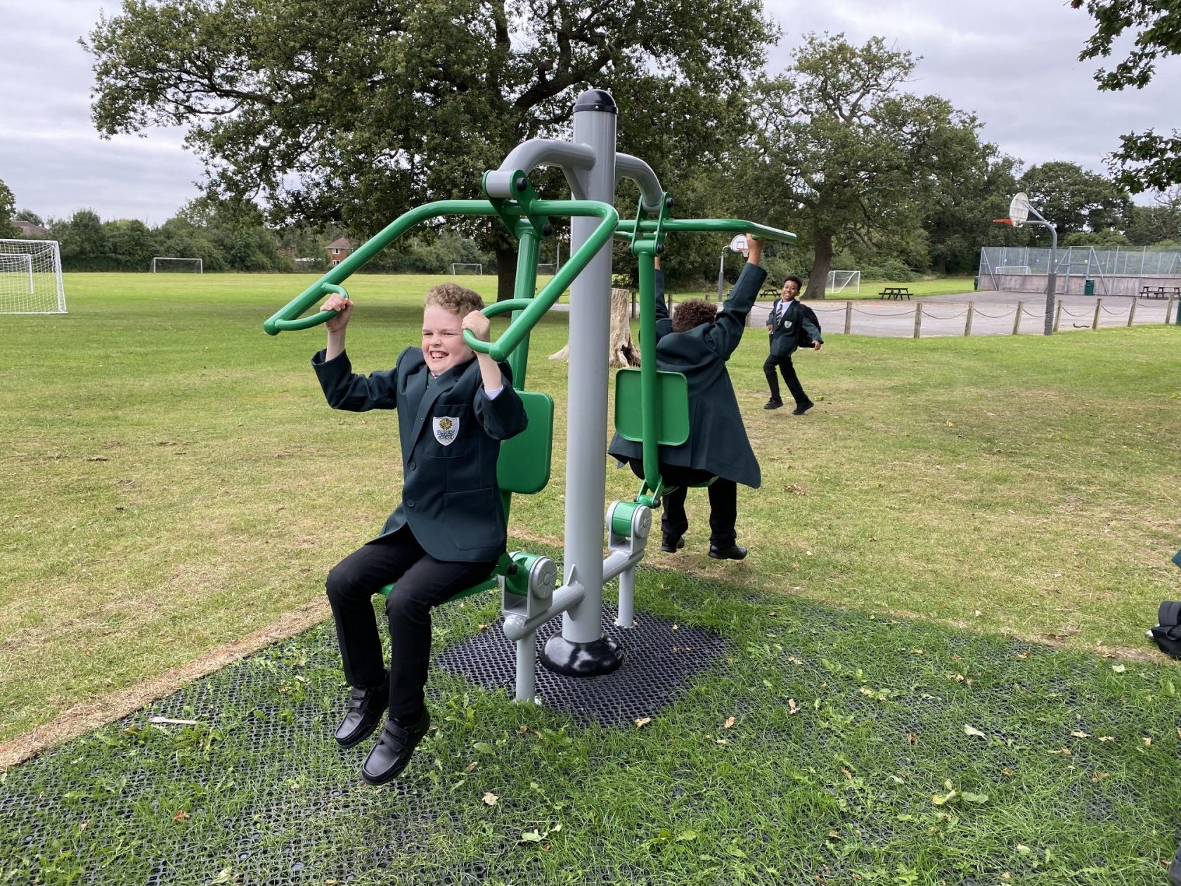 A Fantastic New Outdoor Gym