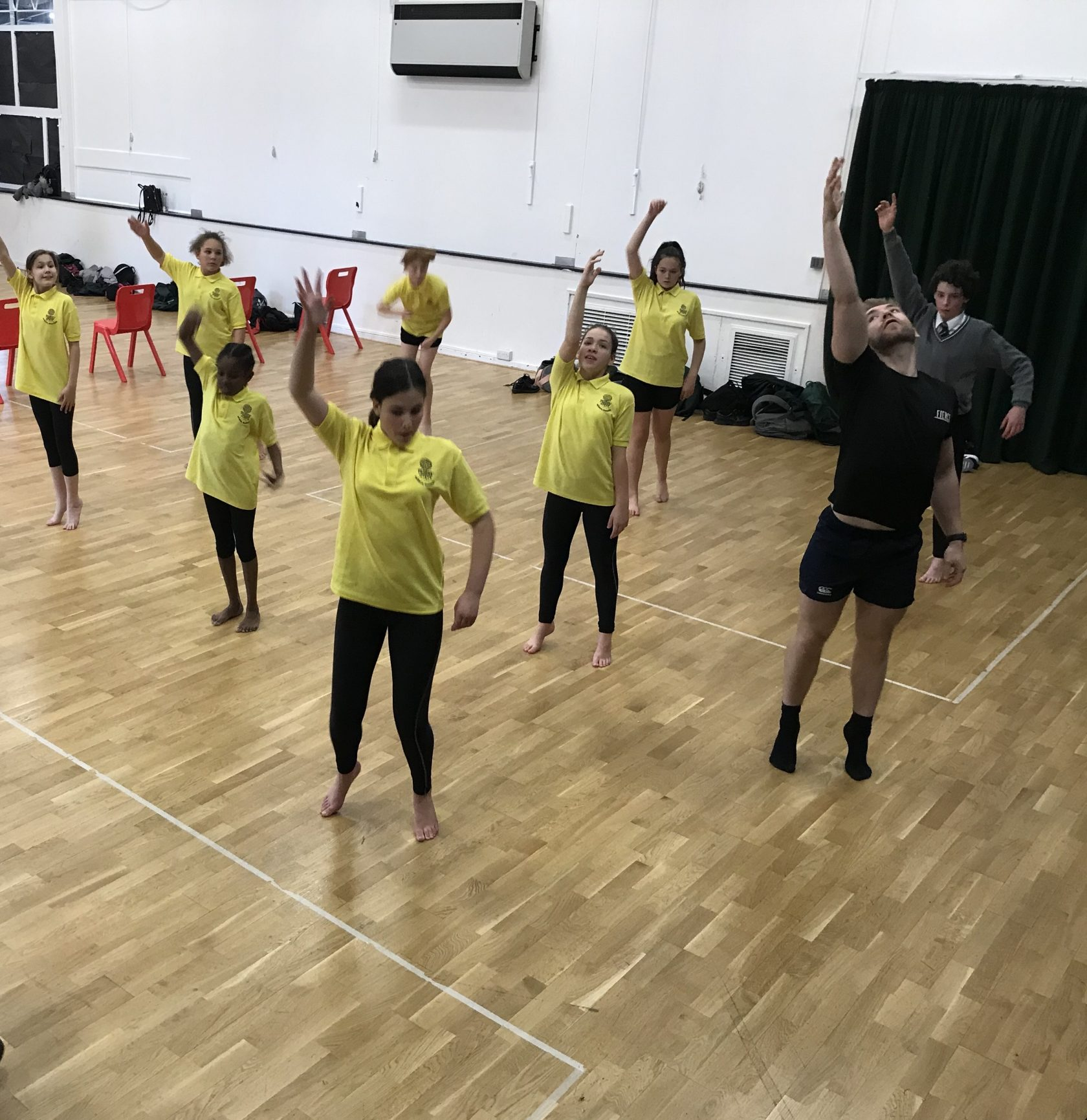 Audition for the Bushey Meads Dance Company