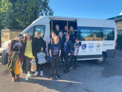 BMS Students off to Aldenham Country Farm