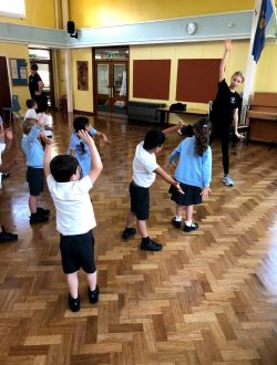 GCSE and A Level Dancers Teaching at Hartsbourne