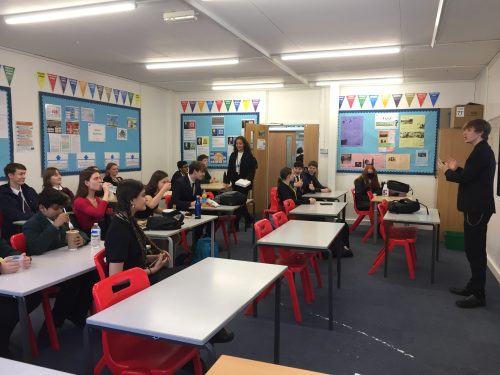 Debate Club Off To A Flying Start