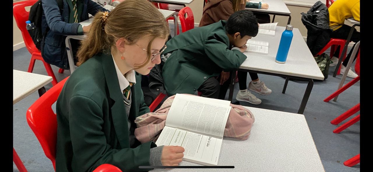 Focussed Friday Reading