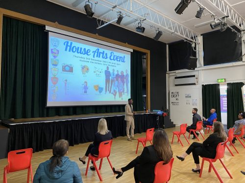 BMS House Arts Competition Launched with a Bang!