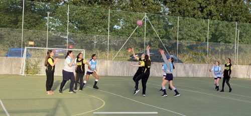 Exhilarating Netball Game