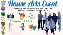 House Arts Competition is BACK!
